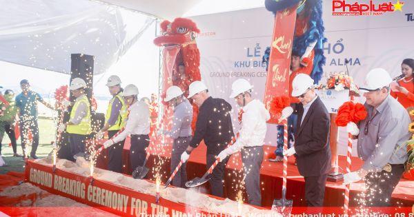 Công ty ALMA thực hiện Lễ Động Thổ khối biệt thự khu nghỉ dưỡng.