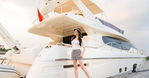 Lý Nhã Kỳ chuẩn bị tiệc trên du thuyền triệu USD