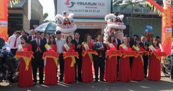 Vinasun Taxi mở chi nhánh Bình Phước: Đẩy mạnh phục vụ Đông Nam Bộ