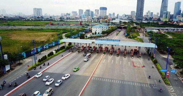 Đề nghị tháo dỡ trạm thu phí bỏ hoang ở hầm vượt sông Sài Gòn