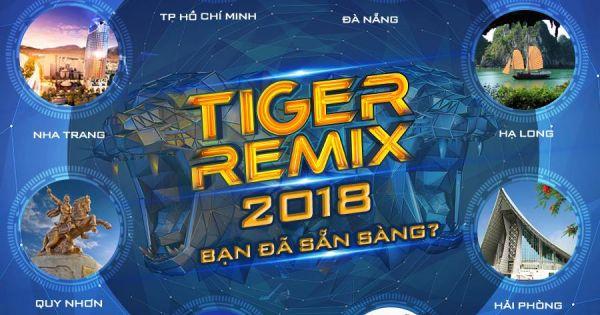 Dàn sao khủng hội tụ tại Tiger Remix 2018
