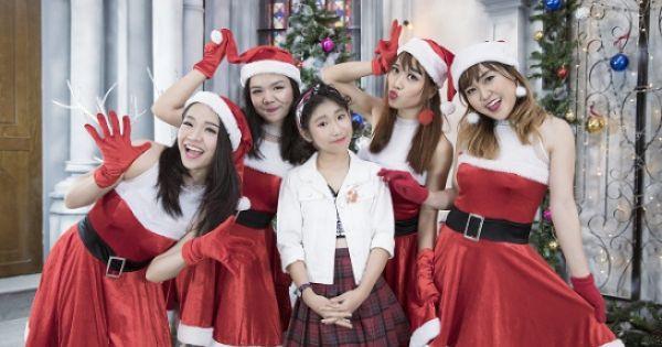 Ju Uyên Nhi đáng yêu và cá tính trong MV nhạc Giáng sinh