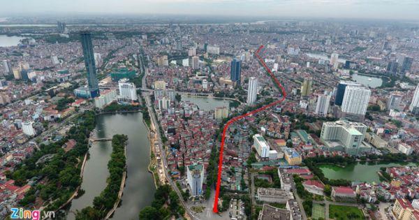 """Gần 8.000 tỷ làm 2,2 km đường Hoàng Cầu - Voi Phục: """"Con đường đắt nhất hành tinh"""""""