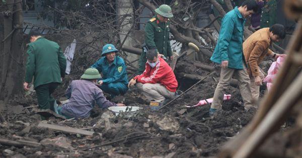 Đạn rơi như vãi thóc tại nơi xảy ra vụ nổ kinh hoàng ở Bắc Ninh