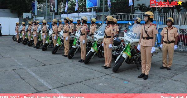 TP HCM: Lễ ra quân năm an toàn giao thông và cao điểm Xuân Mậu Tuất 2018