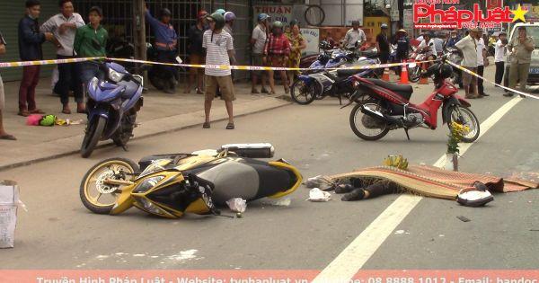 Hai mẹ con thương vong dưới bánh xe ben trên đường đi chợ