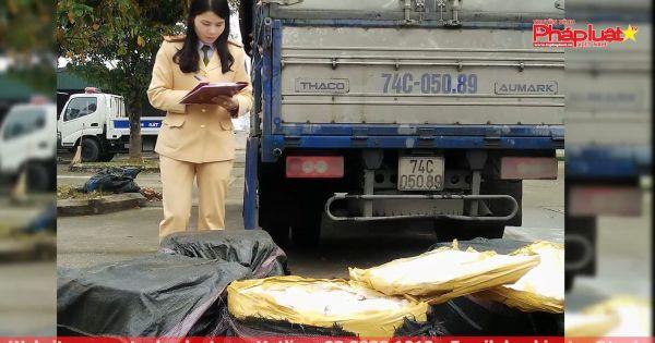 Thanh Hóa: Bắt 200kg thực phẩm không đảm bảo vệ sinh ATTP