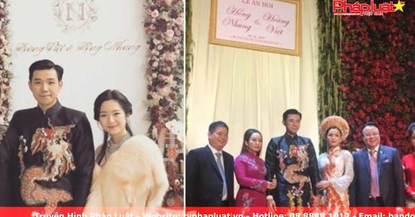 Đám cưới xa hoa của thiếu gia Tập đoàn Tân Hoàng Minh