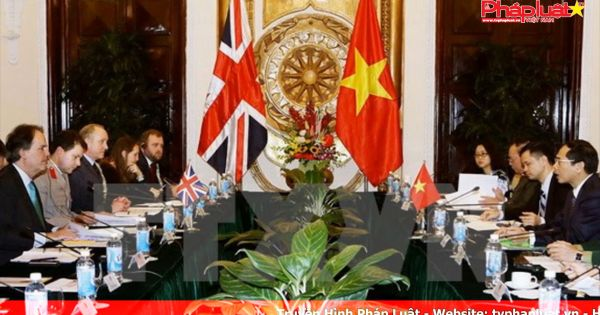 Thông cáo chung Đối thoại Chiến lược Việt Nam – Anh lần thứ 6