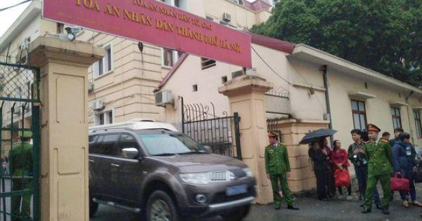 Bắt đầu phiên toà xét xử Trịnh Xuân Thanh, Đinh La Thăng và các đồng phạm