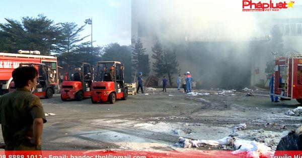Hỏa hoạn thiêu rụi kho thành phẩm Nhà Máy Giấy Sài Gòn