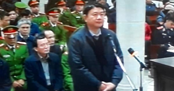 Ngày thứ 2 xét xử Đại án Đinh La Thăng: Bị cáo Thăng khai gì?