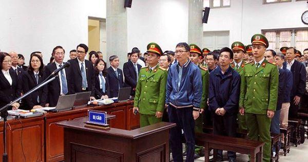 Ngày thứ 2 Đại án Đinh La Thăng: Trịnh Xuân Thanh khai gì tại tòa