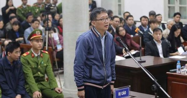 """Ngày thứ 2 xét xử đại án Đinh La Thăng: Trịnh Xuân Thanh phủ nhận """"đốt Tết"""" bằng 4 tỷ đồng tham ô."""