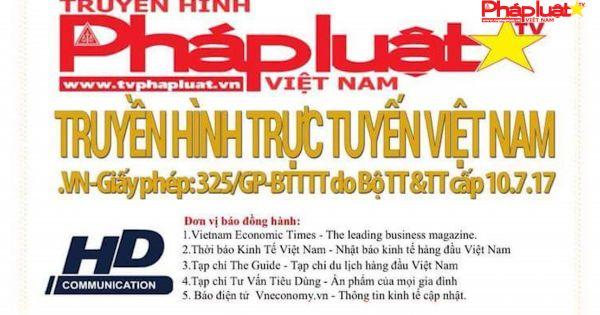 """Chương trình """"Chào Xuân yêu thương 2018"""" gắn Logo của Truyền hình Pháp luật Việt Nam là giả mạo"""
