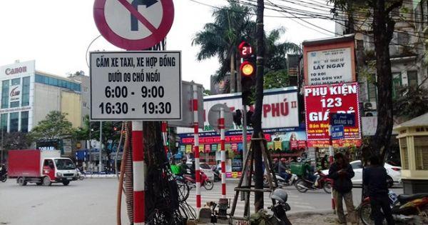 Hà Nội: Cấm Uber, Grab vào giờ cao điểm ở 13 tuyến phố