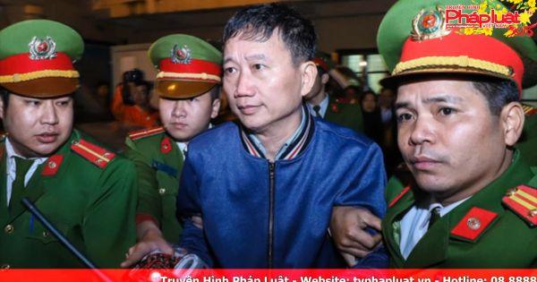 Ngày 24/1, Trịnh Xuân Thanh hầu tòa vụ tham ô tài sản tại PVP Land