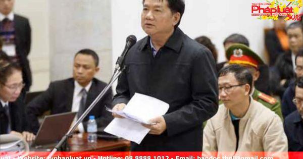 Ông Đinh La Thăng: Bị cáo rất buồn, không thể ngủ được