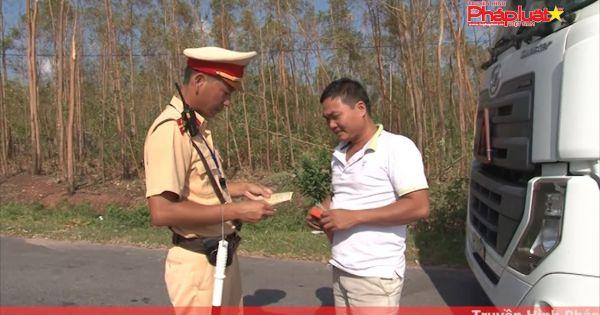 Phòng CSGT tỉnh Quảng Bình: Tăng cường công tác đảm bảo an toàn giao thông