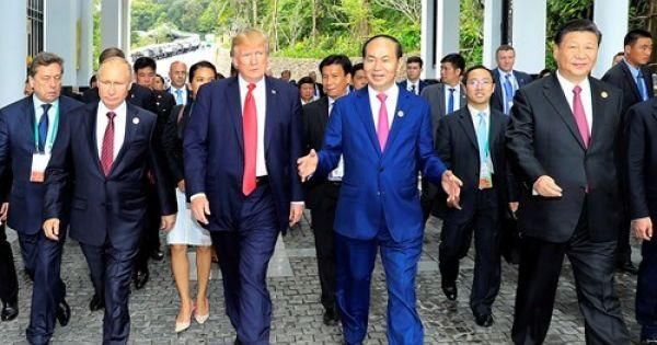 2017 – Năm thành công lớn của đối ngoại Việt Nam