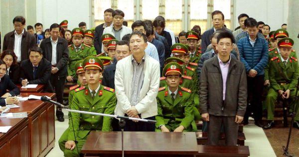 Phiên tòa xét xử ông Trịnh Xuân Thanh bất ngờ tạm dừng đến ngày 2/2