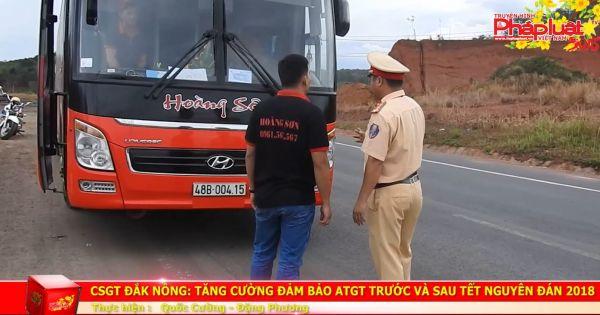 Tăng cường đảm bảo an toàn giao thông trước và sau Tết nguyên đán 2018
