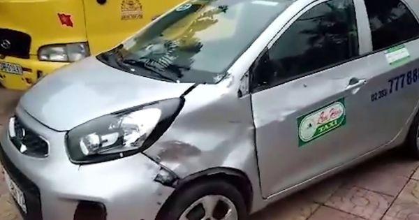 Tài xế taxi Lam Hồng gây tai nạn rồi bỏ chạy