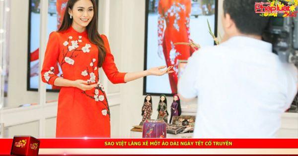 Sao Việt lăng xê Mốt Áo dài ngày Tết cổ truyền