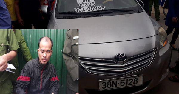 Thượng úy công an thừa nhận lái xe ô tô biển giả đâm chết người
