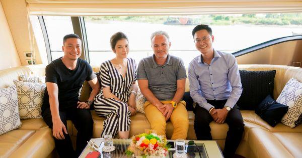 Nhà đồng sản xuất Angel's Face từ Pháp sang Việt Nam hội ngộ cùng Lý Nhã Kỳ