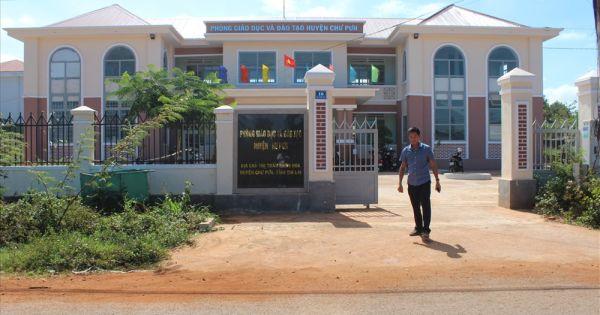 Gia Lai: Phòng GD&ĐT huyện Chư Pưh sai phạm gần 6 tỷ đồng tiền hỗ trợ học sinh