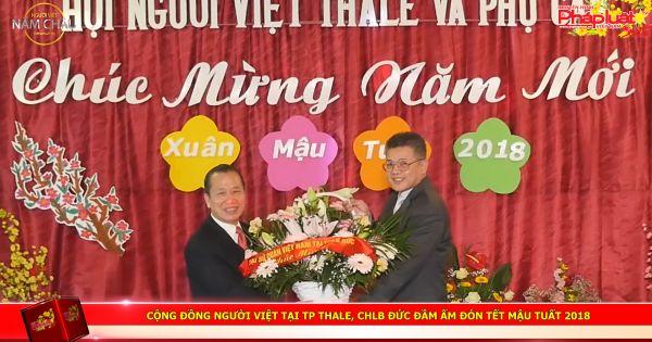 Cộng đồng người Việt tại TP Thale thuộc CHLB Đức đầm ấm đón Tết Mậu Tuất 2018.