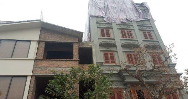"""Căn biệt thự """"đồ sộ"""" xây dựng sai phép của tướng Nguyễn Thanh Hóa"""