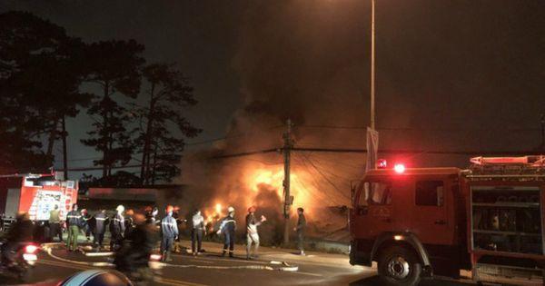 Cháy khu biệt thự ở Đà Lạt, 5 người thiệt mạng