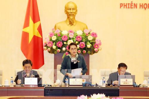 Khai mạc phiên họp thứ 22 của Ủy ban Thường vụ Quốc hội