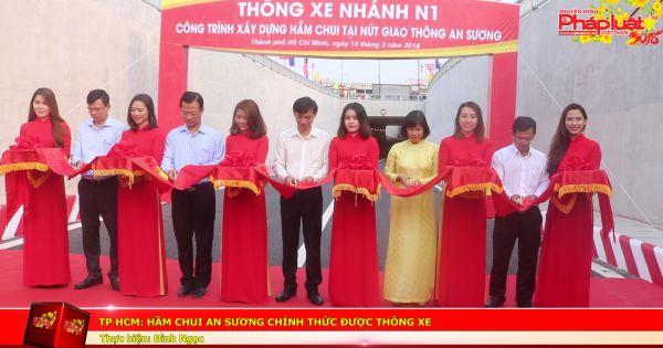 TP HCM: Hầm chui An Sương chính thức được thông xe