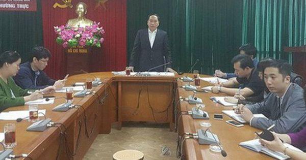 Văn phòng thường trực BCĐ 389 Quốc gia lên tiếng về vụ bổ nhiệm ông Vũ Hùng Sơn