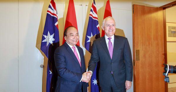 Việt Nam - Australia ký tuyên bố thiết lập quan hệ đối tác chiến lược