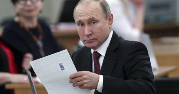Putin lần thứ 4 đắc cử tổng thống Nga