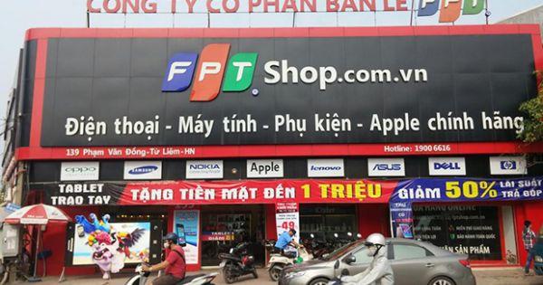 """Thị trường bán lẻ di động Việt Nam: FPT - """"ông lớn"""" thứ 2 sắp lên sàn"""