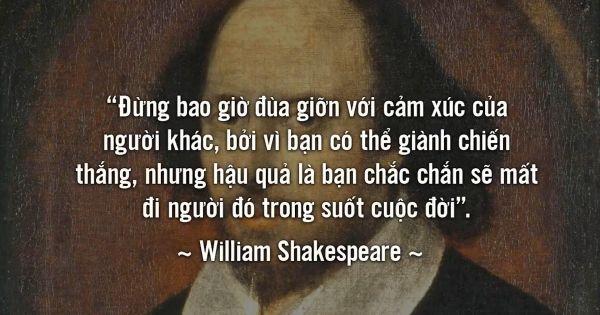 8 câu nói tuyệt vời nhất trên Thế giới