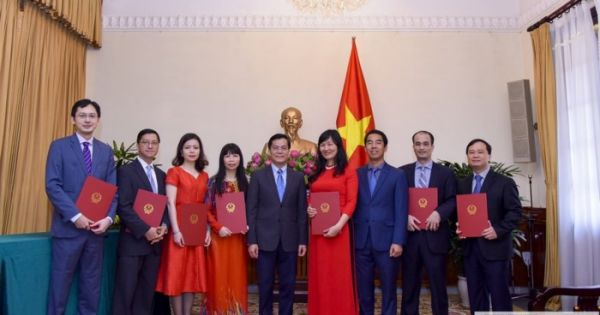 Bộ ngoại giao bổ nhiệm hàng loạt cán bộ lãnh đạo cấp Vụ