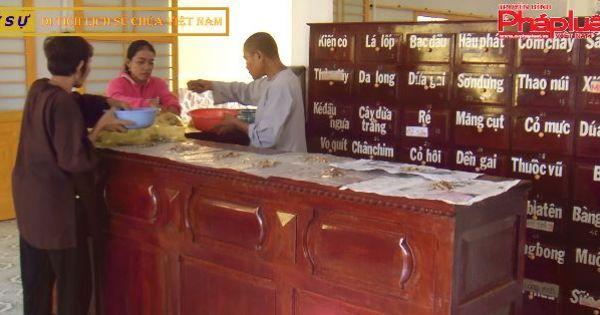 Chùa Thanh Quang - Nơi phụng sự bốc thuốc cứu người