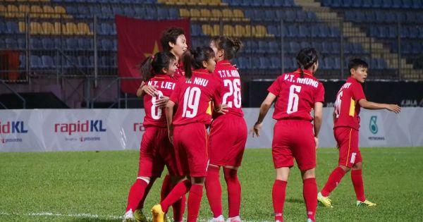 Tuyển nữ Việt Nam đại thắng đội bóng Đức 11-0
