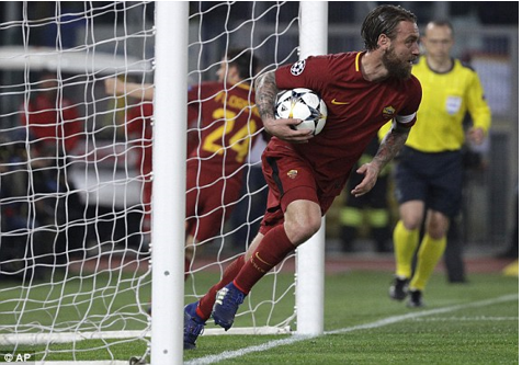 As Roma đè bẹp Barcelona, tạo địa chấn lớn nhất Champions League