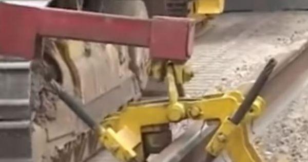 Choáng với công nghệ làm đường sắt siêu nhanh của nước ngoài