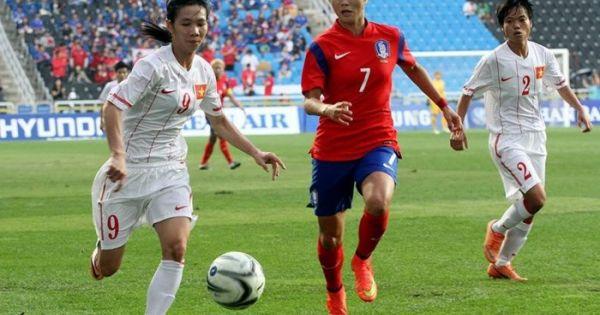 Thua đậm Hàn Quốc, tuyển nữ Việt Nam trắng tay rời giải Châu Á