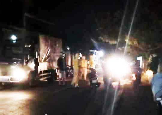 Cảnh sát giao thông bị chém vì kiểm tra nồng độ cồn