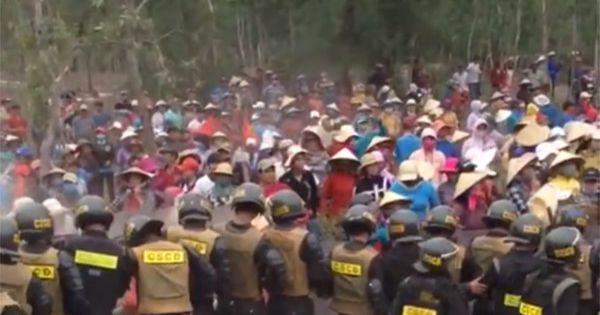 Bình Định: Hàng trăm người phản đối dự án điện gió
