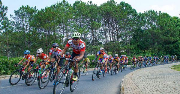 Nguyễn Thành Tâm lần thứ 6 thắng chặng giải xe đạp TH TPHCM